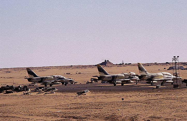 Л-39 захваченные в Вади Дум