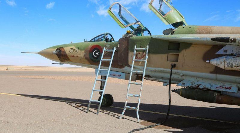 МиГ-23УБ N8008 авиации Ливийской Национальной Армии