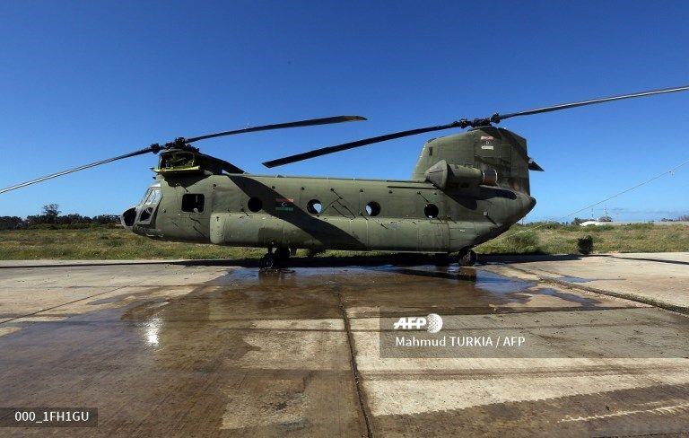 CH-47 Chinook - цель атаки МиГа.