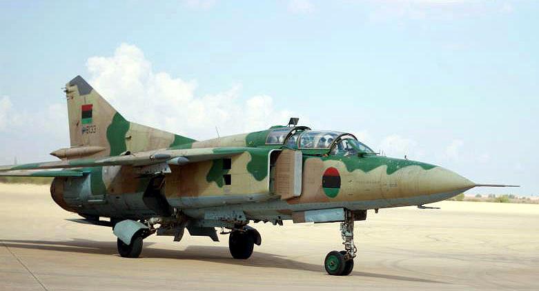 МиГ-23УБ N8133 вид с другого борта
