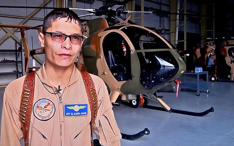 MD530F pilot Mohammed Naiem Asadi