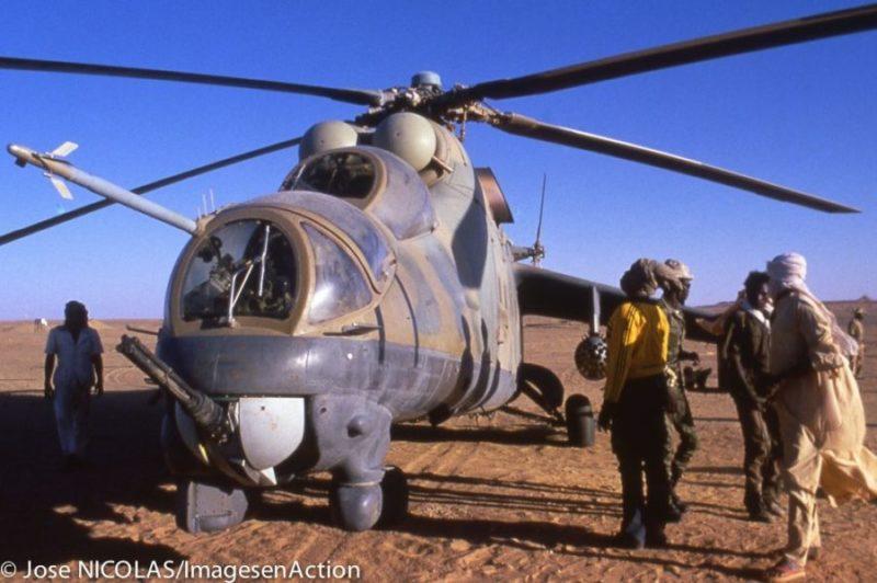 Ливийский Ми-24 в Чаде