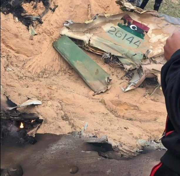 Сбитый ливийский МиГ-23