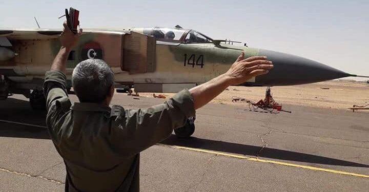 МиГ-23МЛ ВВС Ливии