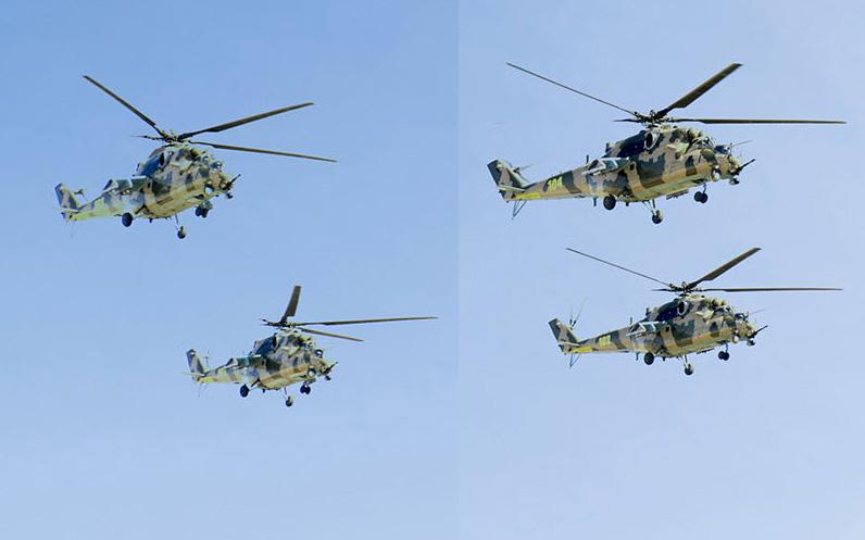 Четверка нахичеваньских ми-35М