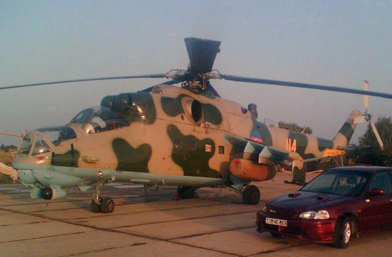 Ми-24В N114