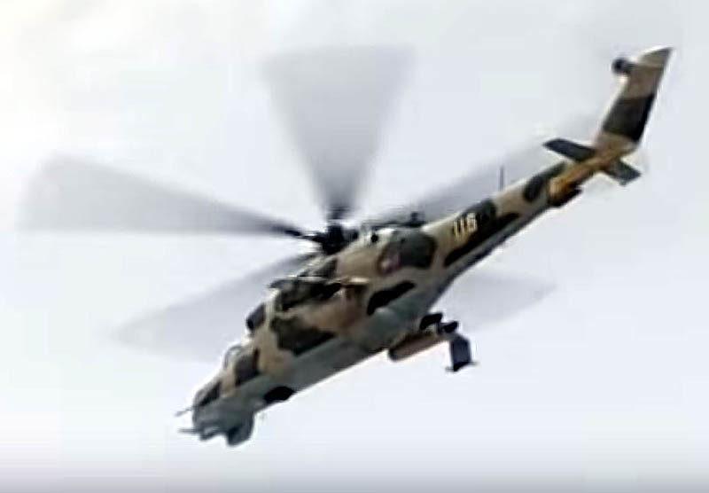 Ми-24В N 116
