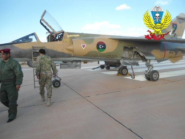 Mirage F-1AD N402 на авиабазе al-Watiyah