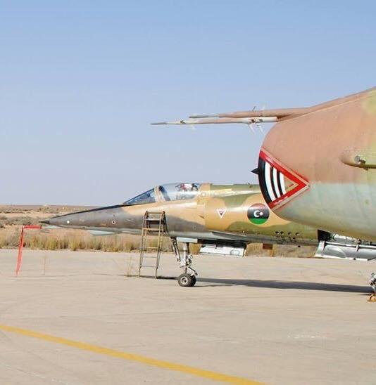 Mirage F-1AD N402 and Su-22