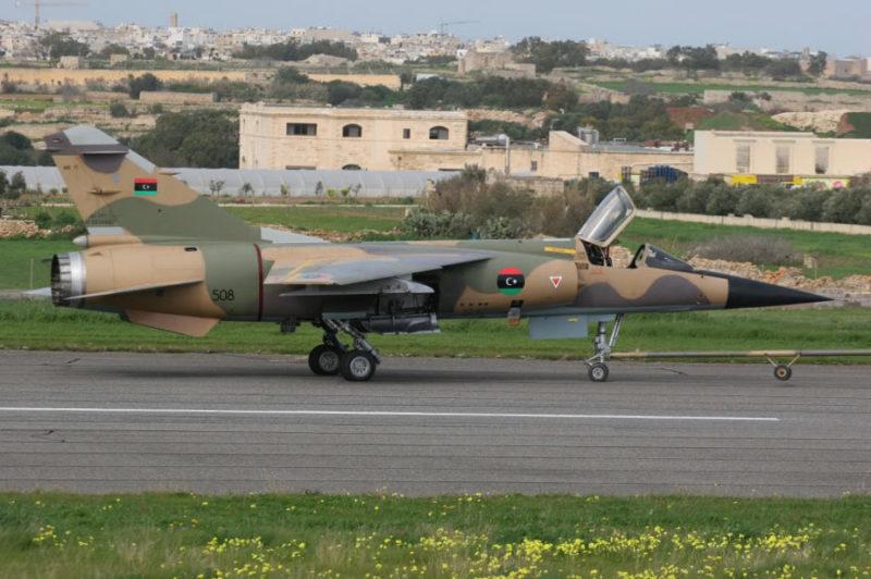 Libyan Mirage F-1ED N508