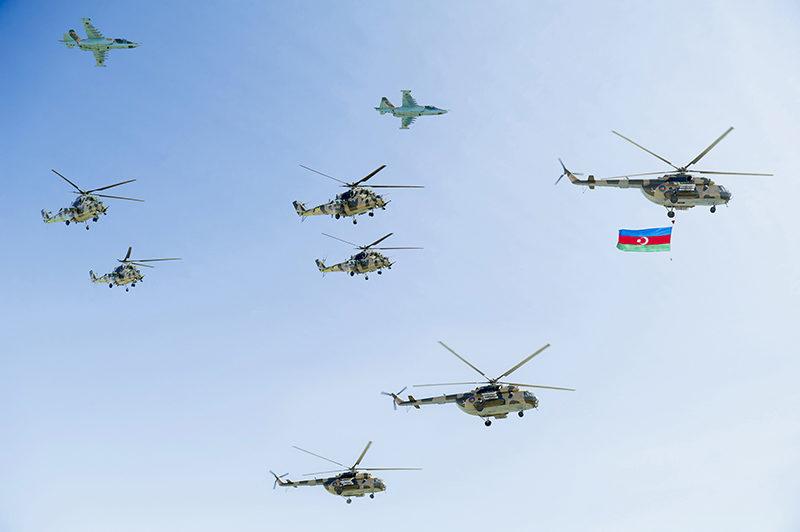 Ми-35М в Нахичевани