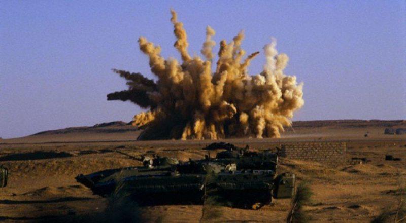 Бомбежка Вади Дум ливийцами